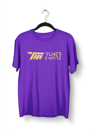 TE Purple/Gold Tee