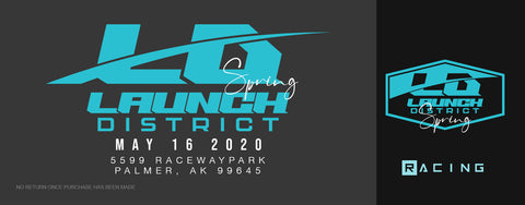 Launch District Spring Racing Ticket