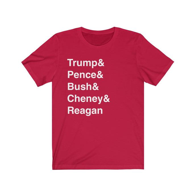 Republican Name List Shirt