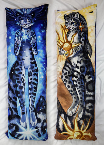 Snowleopard by Flash W-Dakimakura