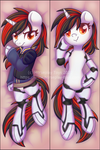 Blackjack by MusicFireWind - Dakimakura