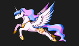 "Fitted T-shirt - ""Celestia"" by Stormblaze-Pegasus"