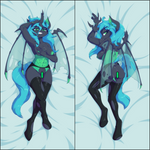 Inflatable body pillow - Chrysalis by DanLi69