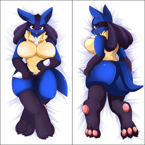 Inflatable penetrable body pillow - Luca by DrgnAlexia