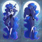 Inflatable body pillow - Warrior Princess Luna by Fensu