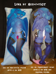 Inflatable body pillow - Luna by NexcoyotlGT