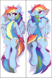 €URO HomeCon SPECIAL: Rainbow Dash by Fensu - dakimakura