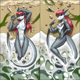 Shark Girl by Myke Greywolf - XL Dakimakura