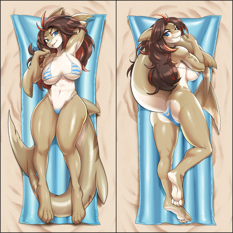 Inflatable body pillow - Tarni by Kittell