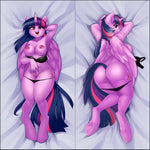 Inflatable penetrable body pillow - Twilight Sparkle by iloota