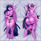 Inflatable body pillow - Twilight Sparkle by iloota