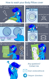 Dragon Blue Body Pillow by Maaia - Dakimakura