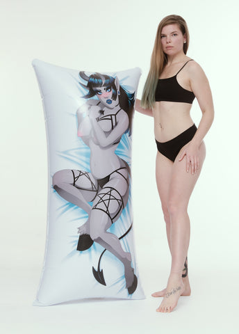 €URO HomeCon 2020 SPECIAL: Inflatable body pillow - Devil Girl