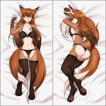 Inflatable body pillow - Kitsune by Kittell
