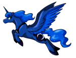"Fitted T-shirt - ""Luna"" by Stormblaze-Pegasus"