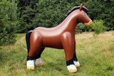 Inflatable German Heavy Warmblood horse