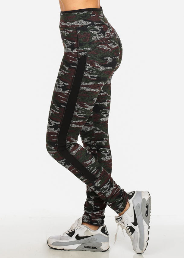 Stylish Camo Print Leggings