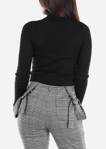 Image of Black Turtleneck Sweater