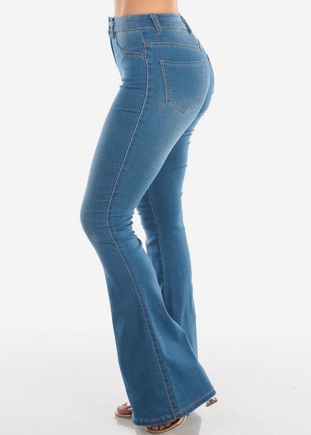 High Rise Bell Bottom Jeans