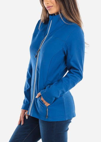 Blue Full Zip Jacket