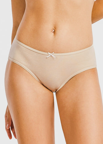 Assorted Cotton Bikini Panties (12 PACK)