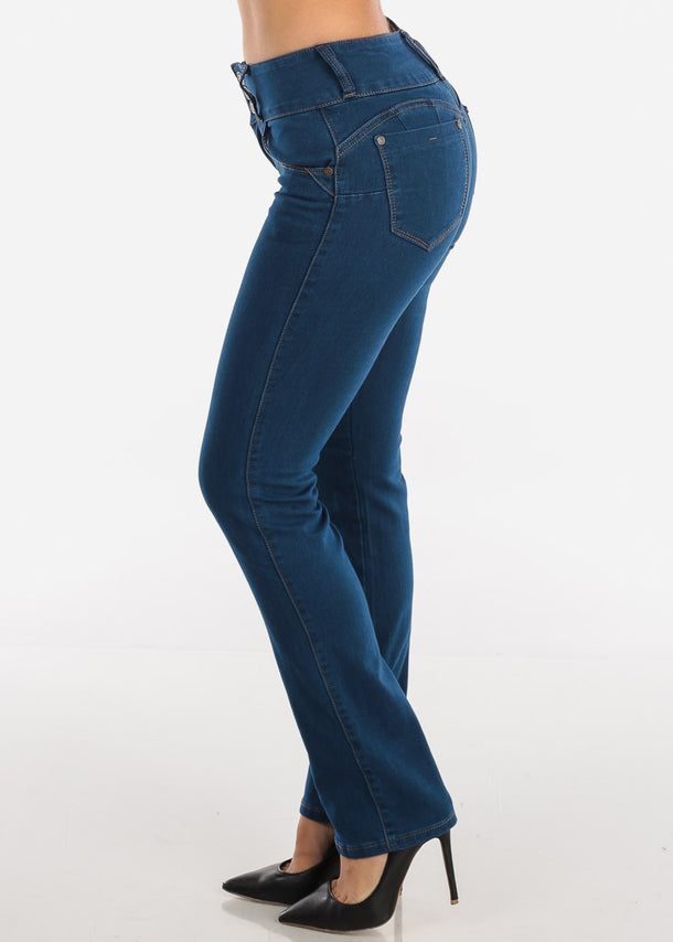 Levanta Cola Med Wash Bootcut Jeans