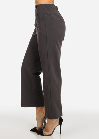 Image of Classic Grey Straight Leg Pants