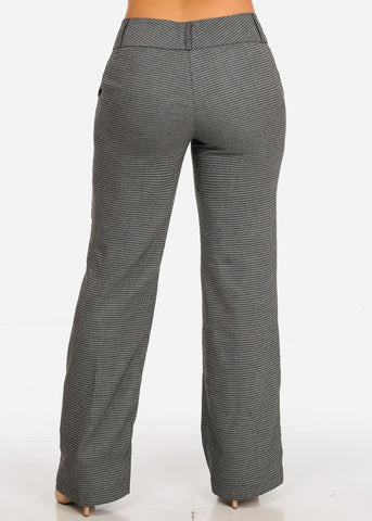 Image of Plus Size Patterned Pants