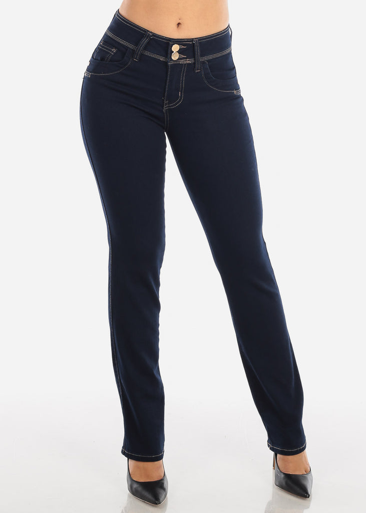 Levanta Cola Dark Wash Bootcut Jeans