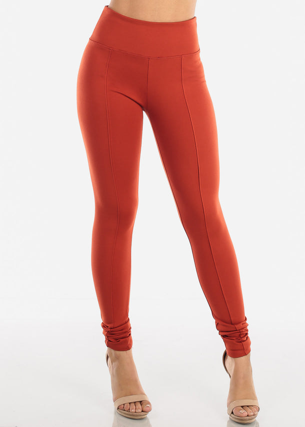 High Rise Brick Leggings