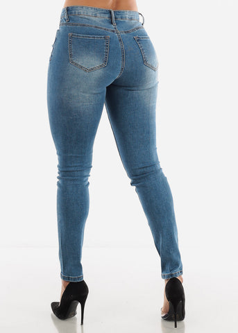 Light Blue Ripped Jeans