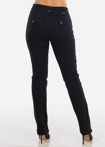 Image of Levanta Cola Bootcut Black Jeans
