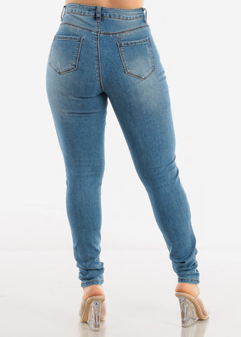 Image of Light Blue Denim Jeans