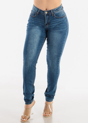 Image of Medium Blue Denim Jeans