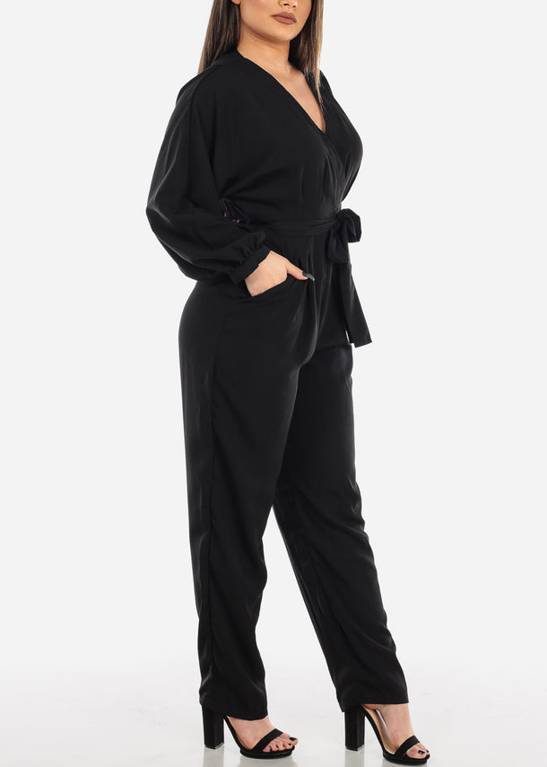 Lightweight Black Jumpsuit