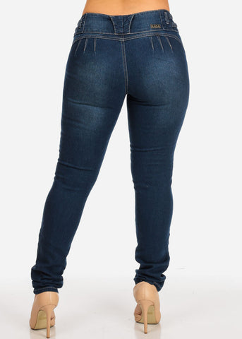 Image of Butt Lifting Braided Jeans
