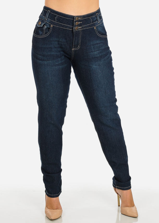 Plus Size Colombian Skinny Jeans
