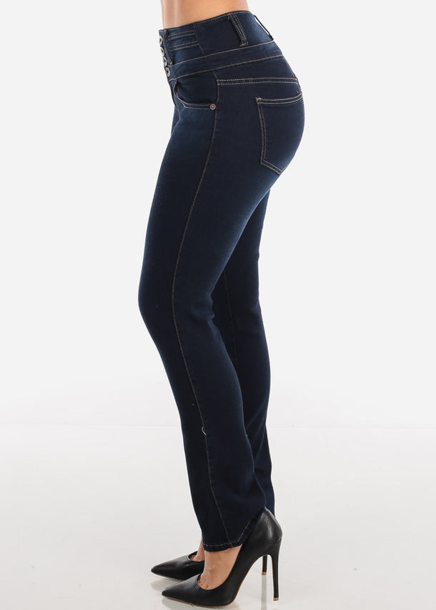 Bootcut High Rise Dark Wash Jeans