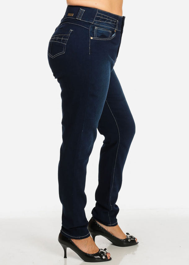 PLUS SIZE High Waisted Jeans