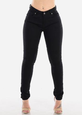 Image of Classic Black Skinny Jeans