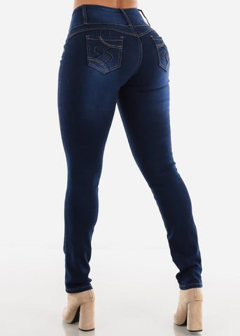 Dark Wash Levanta Cola Jeans