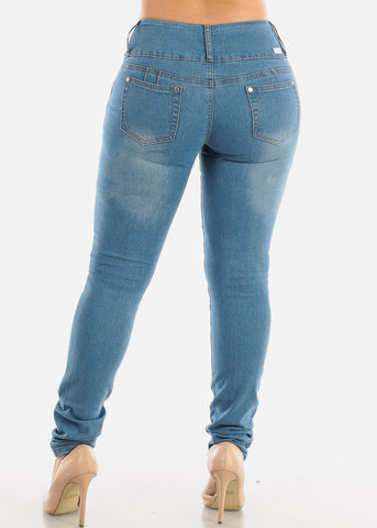 Image of SIZES 13-15-17 Butt Lifting Torn Skinny Jeans