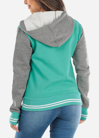 Image of Green Baseball Sweater