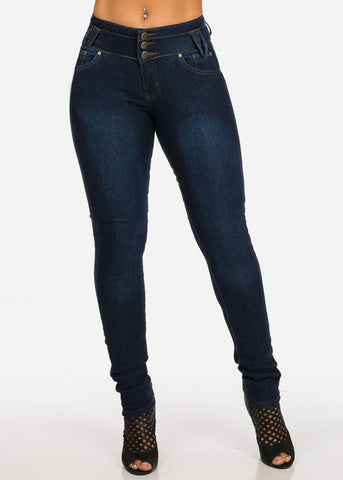 Image of Back Pocket Butt Lifting Jeans