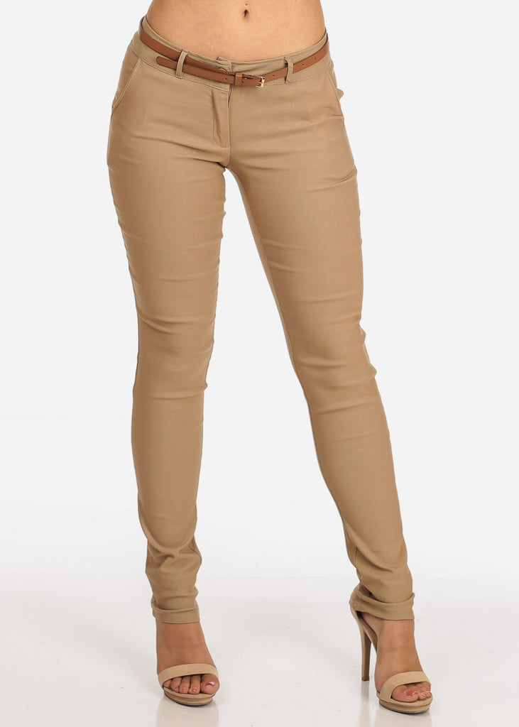 1c12572cfeb Women s Junior Ladies Dressy Stretchy Going Out Business Career Office Wear  Low Rise Below The Waist ...