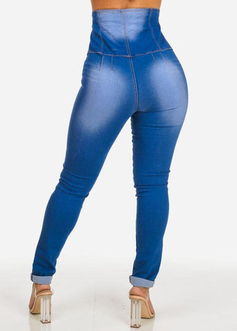 Ultra High Rise Skinny Jeans