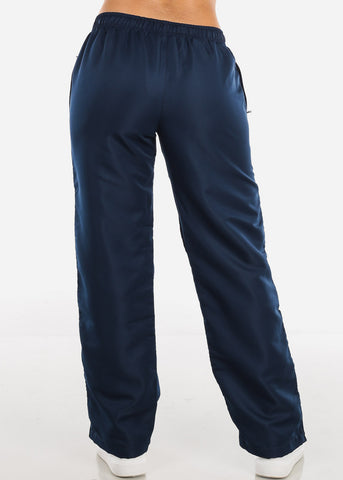 Image of Navy Track Pants