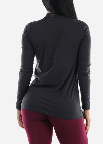 """ROCKER"" High Neck Top"