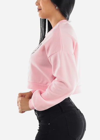 """Angel"" Pink Sweatshirt"