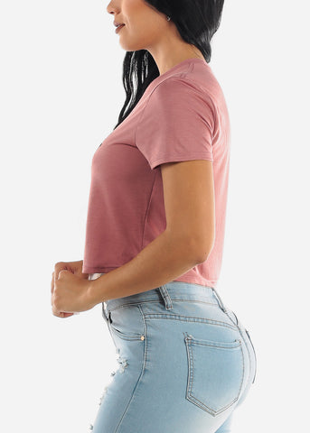 "Image of ""Wifey"" Mauve Top"